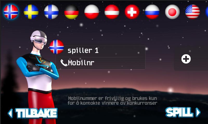 Vikersund Skiflyging - screenshot