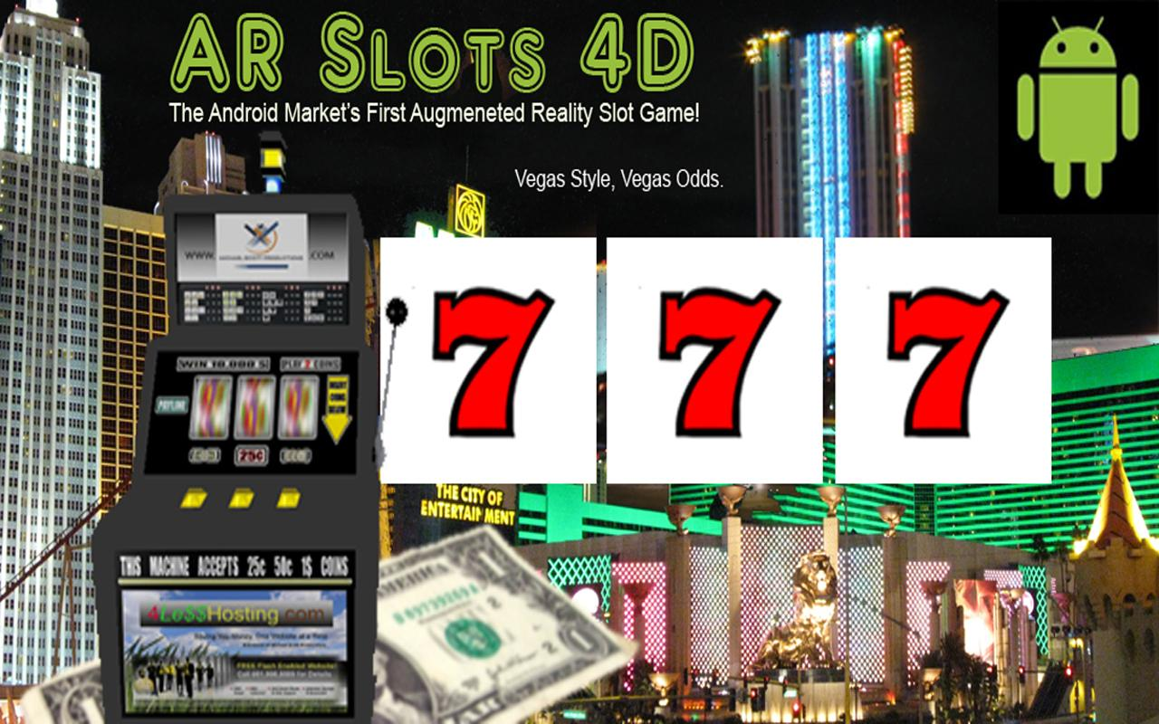 4D Vegas Style AR Slot Machine - screenshot