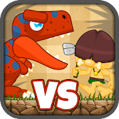 FREE Caveman Dino Tower Defend