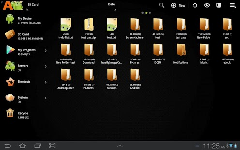 AndroXplorer Pro File Manager - screenshot thumbnail