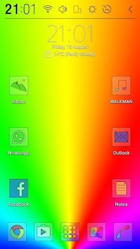 Sliminimal Colour Lite Theme