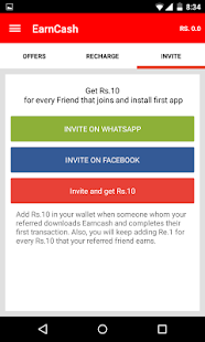 Earn Cash Free Mobile Talktime Screenshot
