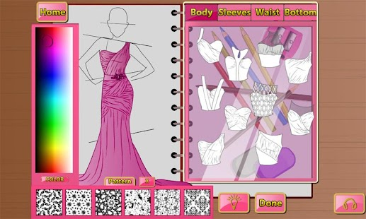 Fashion studio xl android apps on google play for Design your own wedding dress app
