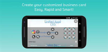 Business Card Maker Android app on AppBrain