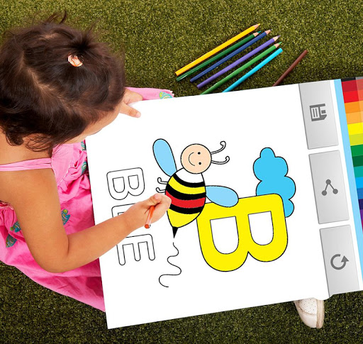 Coloring Book for Kids ABC