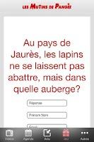 Screenshot of Les Mutins de Pangée