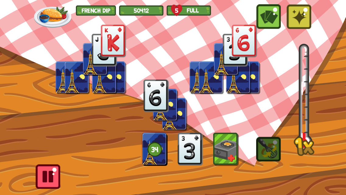 Kitchen Solitaire- screenshot