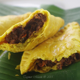 Vegan Jamaican Beef Patties