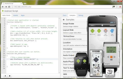 玩免費工具APP|下載AndroidScript programming IDE app不用錢|硬是要APP