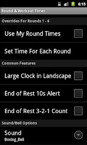 Workout Timer screenshot 2