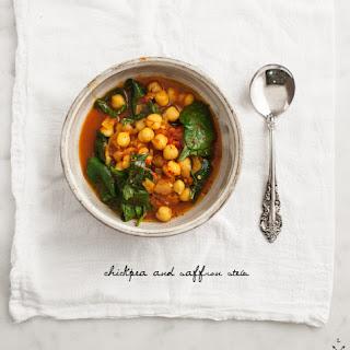 Chickpea & Saffron Stew
