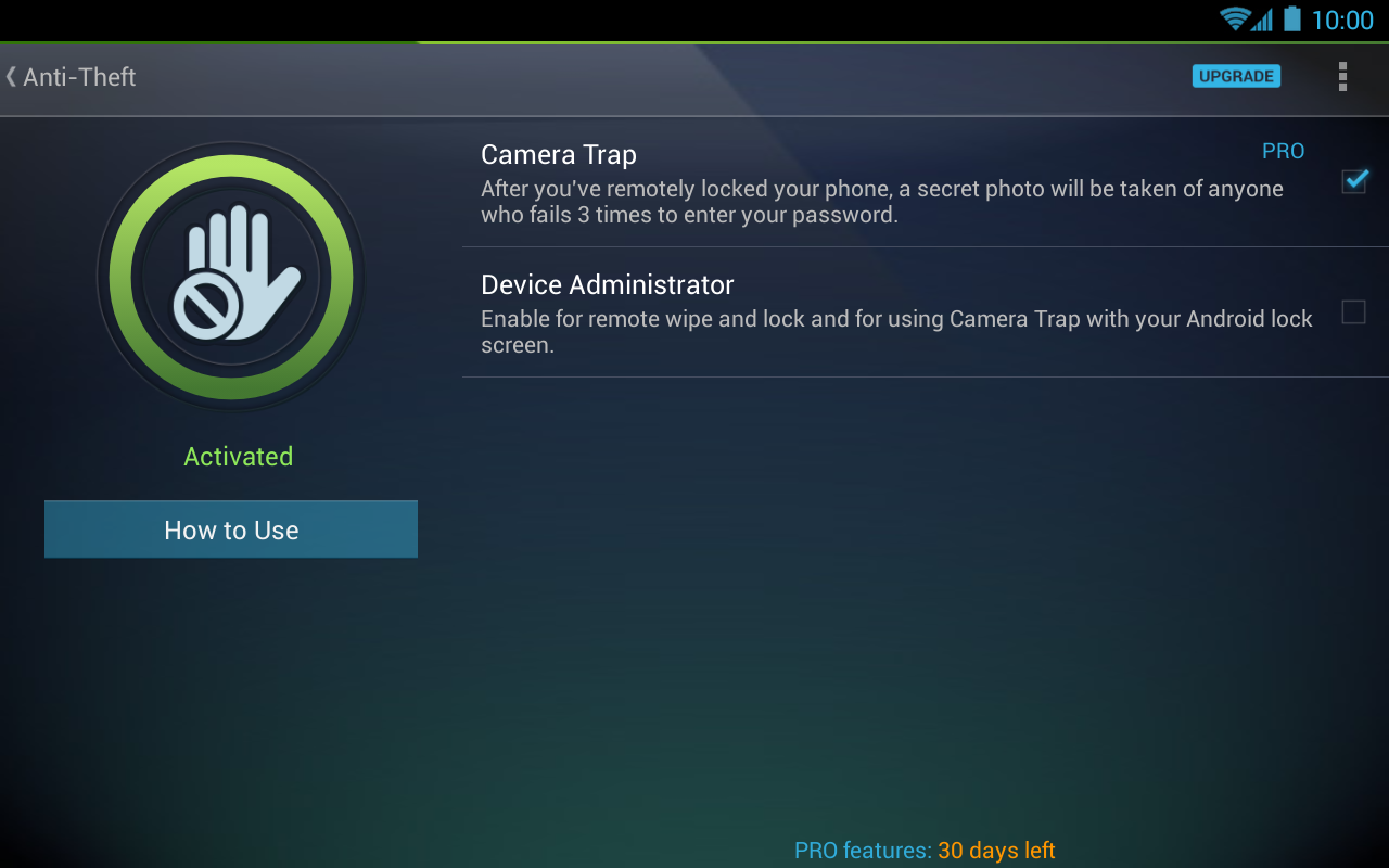 Tablet AntiVirus Security FREE - screenshot