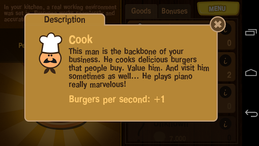 Burger Clicker 1.1.2 screenshots 4