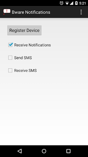 Bware Notifications