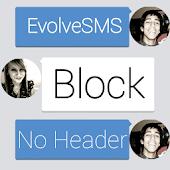 Evolve Theme -Block w/o Header