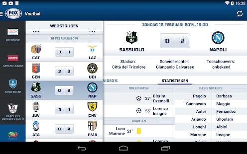 FOX Sports NL Screenshot 19