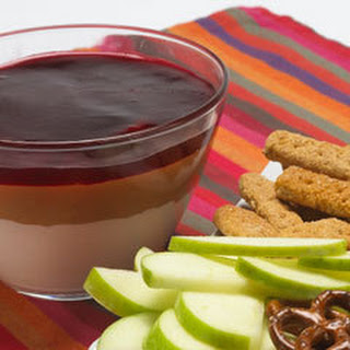 Warm Peanut Butter & Jelly Dip