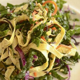 Kale Hijiki and Yuba Salad.