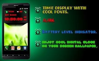 Screenshot of Digital clock & alarm