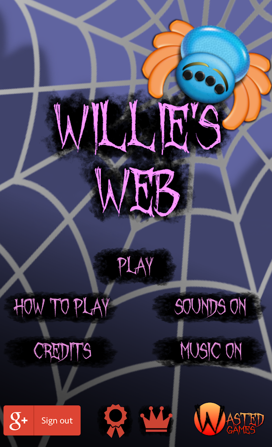 Willies Web ( Spider action! )- screenshot