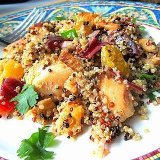 Quinoa w/ Chicken & Citrus Salad