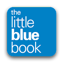 The little blue book logo
