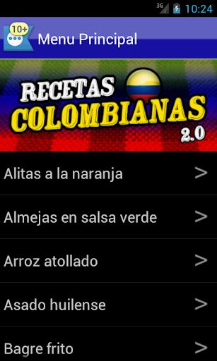 Recetas Colombianas 2.0