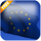 3D EU Flag Live Wallpaper