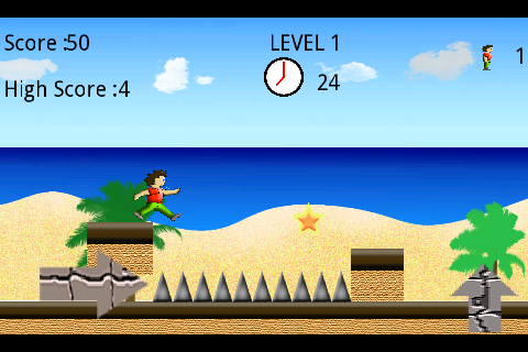 Super Runner Mario ( Lite ) - screenshot