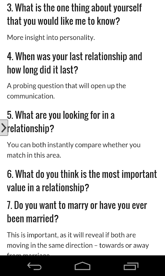 Questions to ask a date online