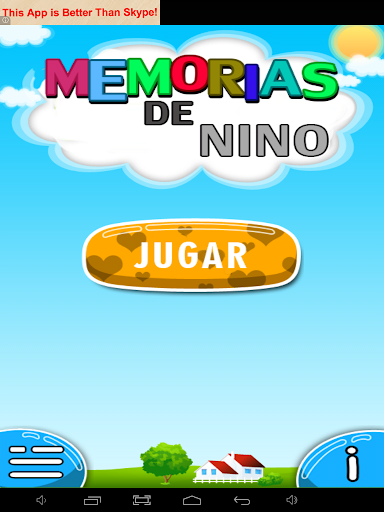 Kids memory food-spanish