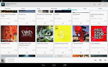 aWARemote for Winamp® Screenshot 12