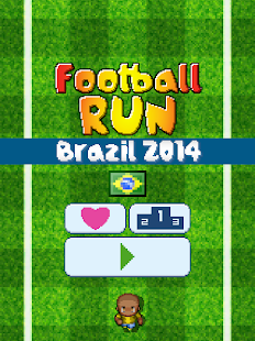 Football Run - Brazil 2014 - screenshot thumbnail