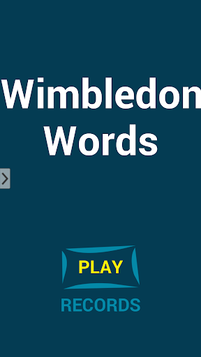 Wimbledon Words