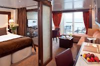 Penthouse Suite on Seabourn Odyssey