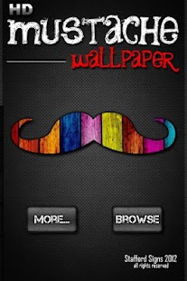 HD Mustache Wallpaper