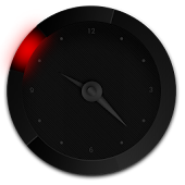 Ultra - analog clock widget