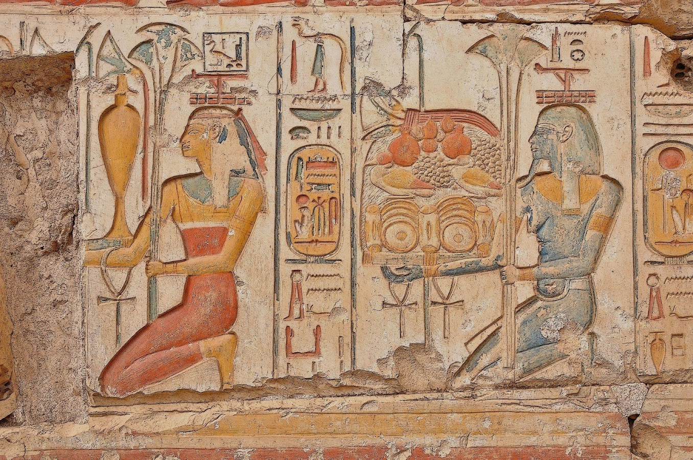 Egypt wallpaper android apps on google play for Egyptian mural wallpaper