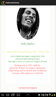 Radio BoB Marley - screenshot thumbnail