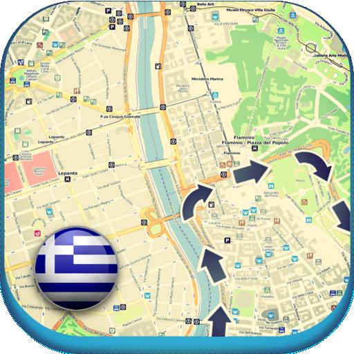 그리스 오프라인 도로지도 가이드날씨, 뉴스 旅遊 App LOGO-APP開箱王