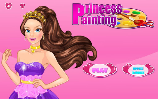 Princess Painting Dress Up