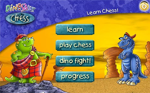 Learn Chess: Dinosaur Chess