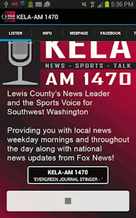 KELA-AM News/Talk/Sports- screenshot thumbnail