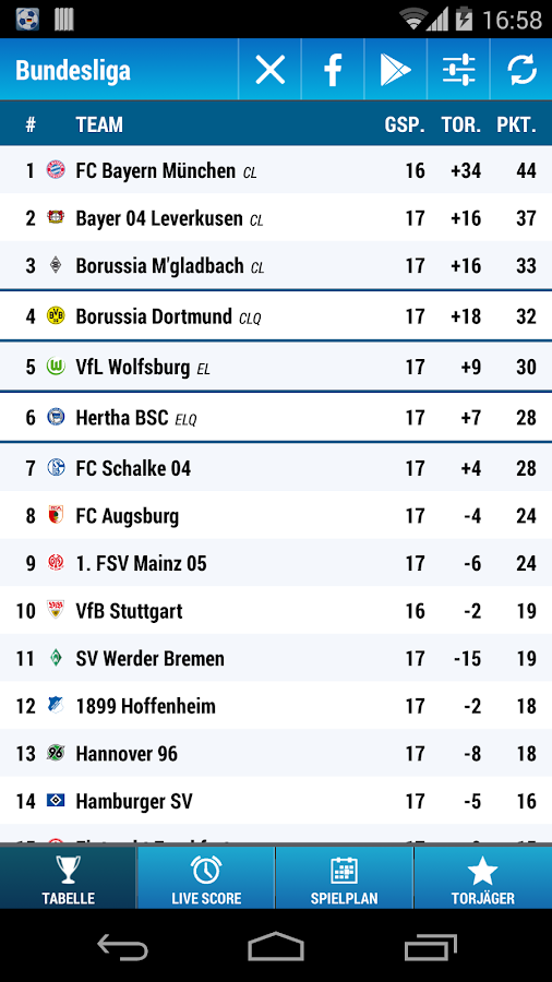 Bundesliga - screenshot
