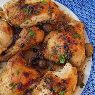 Chicken Marbella.