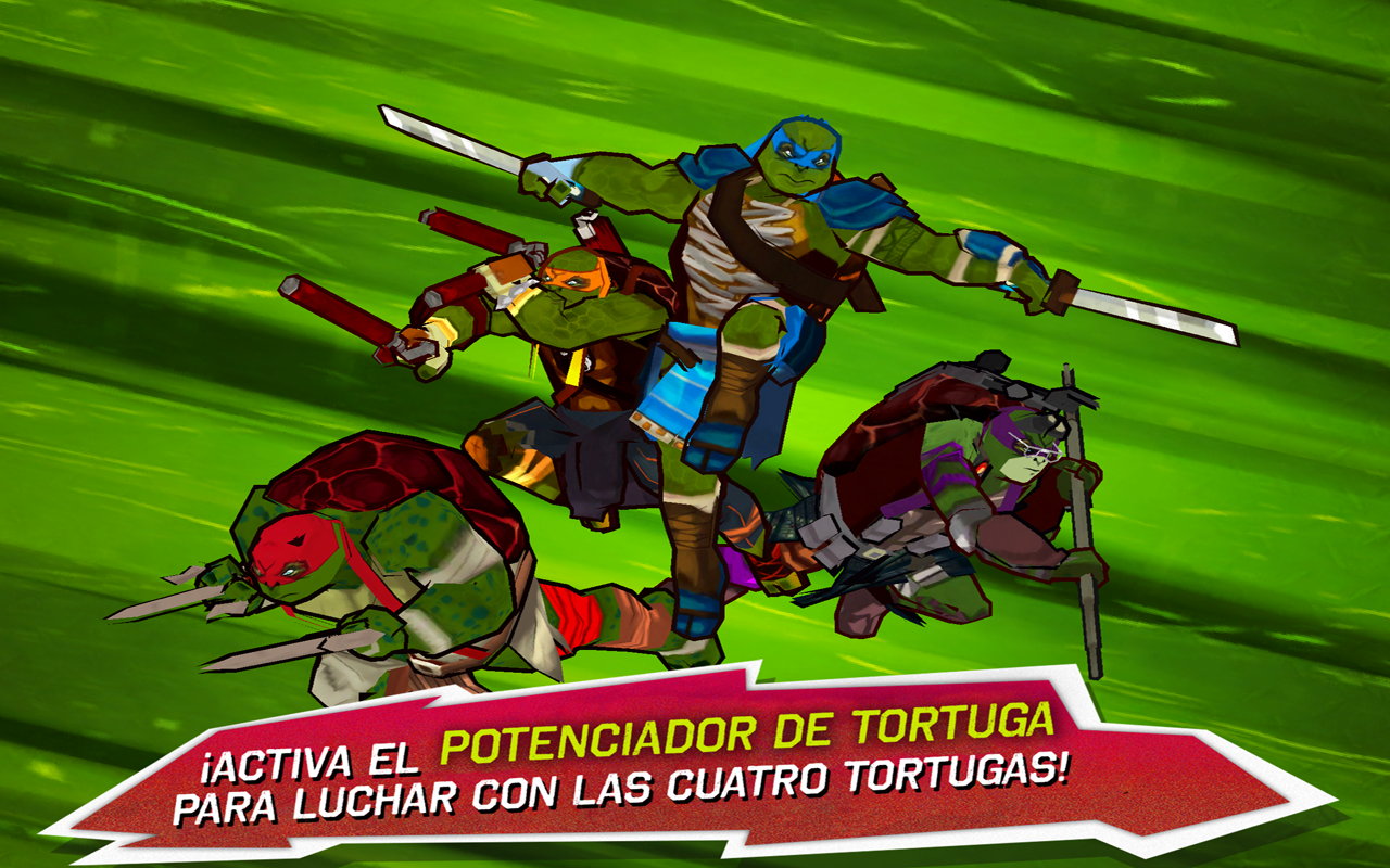 NINJA TURTLES APK Descargar