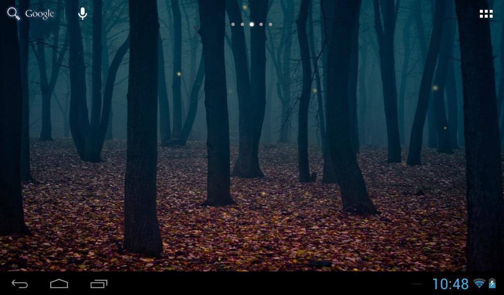 Fireflies In The Forest Screenshot