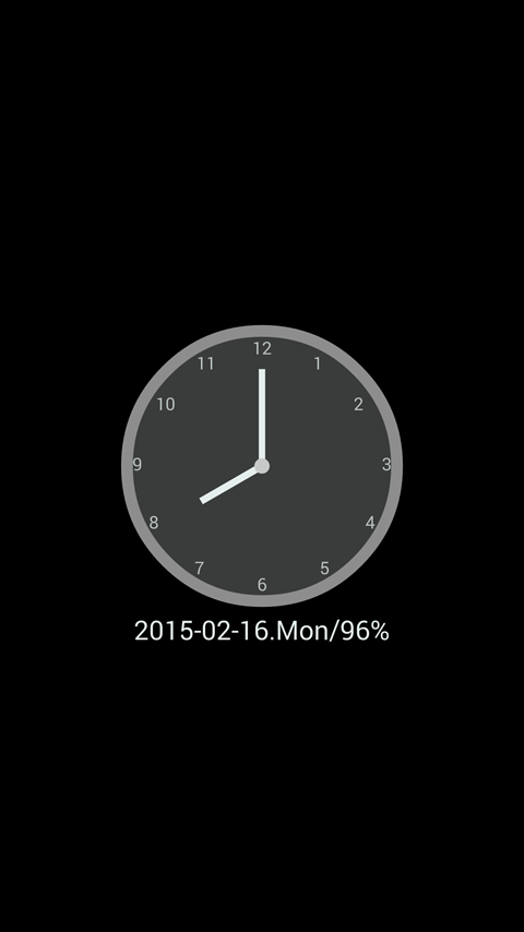 ClockView - Always On Clock - screenshot