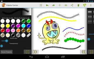 Screenshot of Palette Painter