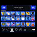 Emoji Keyboard+ Sapphire Theme icon
